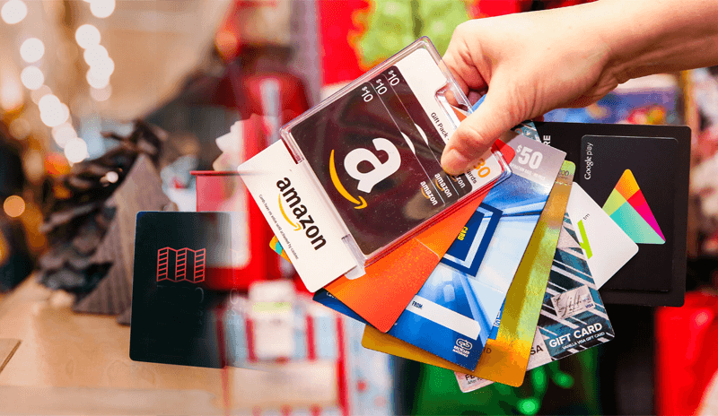 Share the love and spread the spirit of giving with Giftcards!
