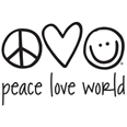 Peace Love World US